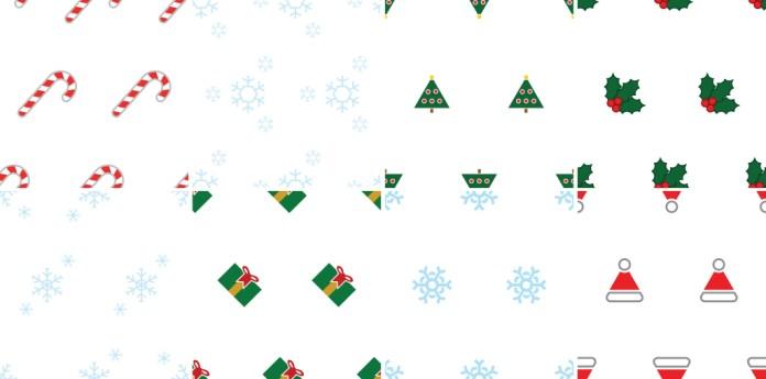 8 free holiday pattern vectors