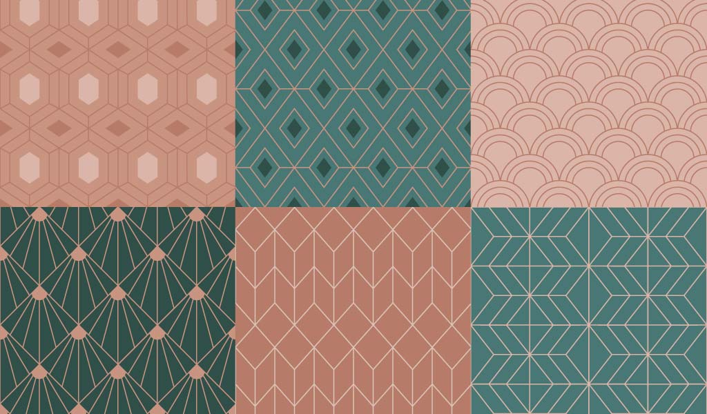 Free Art Deco Design Pack Patterns Borders Shapes And More