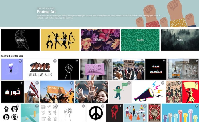 Protest Art Curated Collection