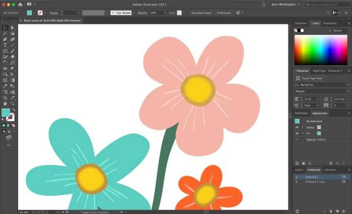 Gaussian Blur Effect in Adobe Illustrator