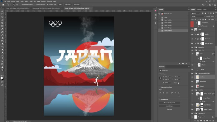 Final Photoshop Composition