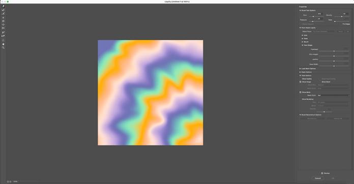 Distorting Pattern