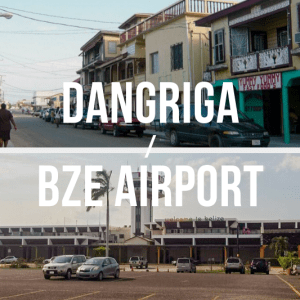 Dangriga / Belize International Airport (BZE) - Private Shuttle