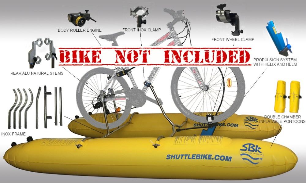 Shuttlebike Kit Evo 2 0 For Bike 27 5 29 Shuttle Bike Kit