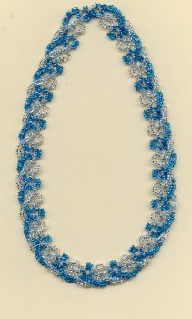 BEANILE Interlaced Necklace.  Teacher:  Mimi Dillman.