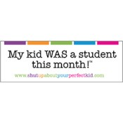 My kid WAS a student this month