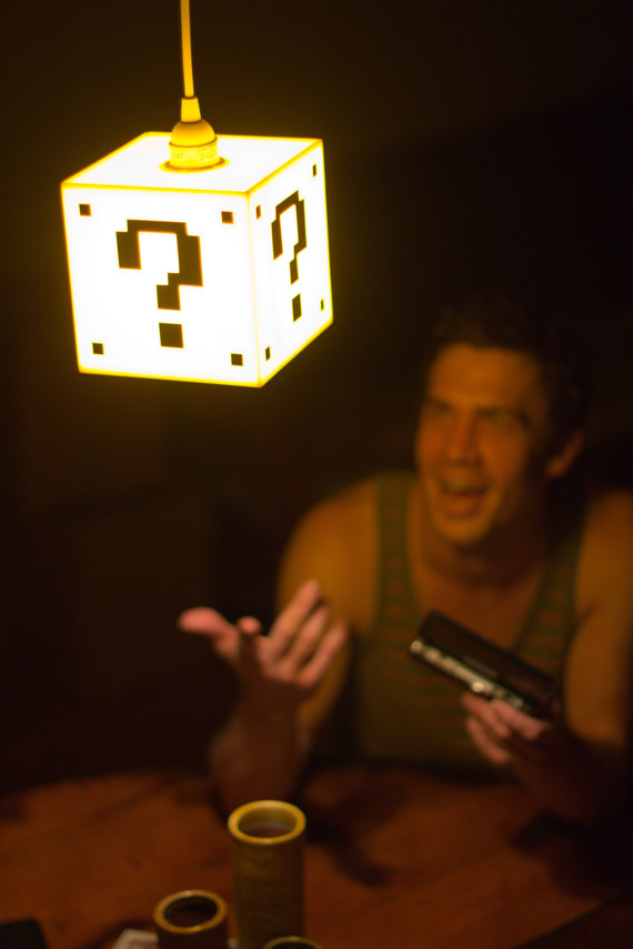 Mario Question Mark Block Lamp Shut Up And Take My Money