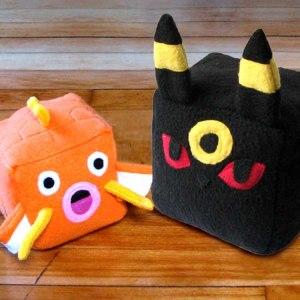 Pokemon Cube Plushies