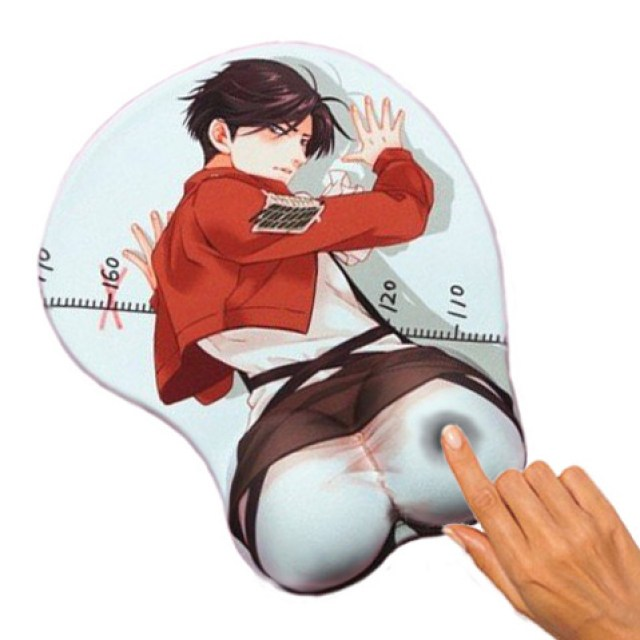 Sexy Levi 3D Mousepad Attack on Titan Shut Up And Take My Yen : Anime & Gaming Merchandise