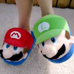 Super Mario Bros Slippers