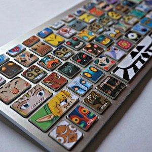 Legend of Zelda Keyboard Stickers Shut Up And Take My Yen : Anime & Gaming Merchandise