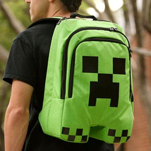 Minecraft Creeper Backpack Shut Up And Take My Yen : Anime & Gaming Merchandise