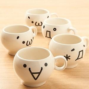 Kaomoji-Kun Mugs Shut Up And Take My Yen : Anime & Gaming Merchandise