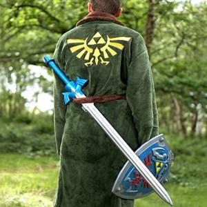 Legend Of Zelda Bath Robe Shut Up And Take My Yen : Anime & Gaming Merchandise