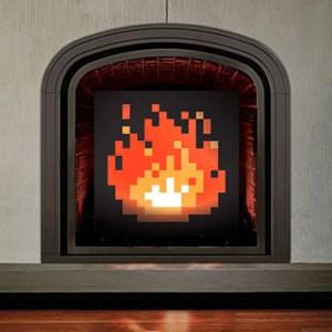 8-Bit Fireplace Shut Up And Take My Yen : Anime & Gaming Merchandise