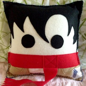 Attack On Titan Pillows Shut Up And Take My Yen : Anime & Gaming Merchandise