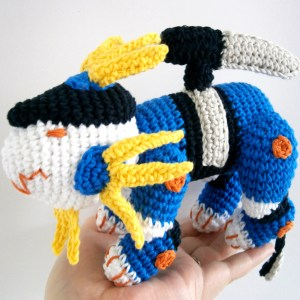 Zoids Murasame Liger Crochet Plush Shut Up And Take My Yen : Anime & Gaming Merchandise