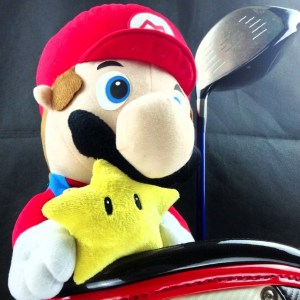 Super Mario Golf Club Cover Shut Up And Take My Yen : Anime & Gaming Merchandise