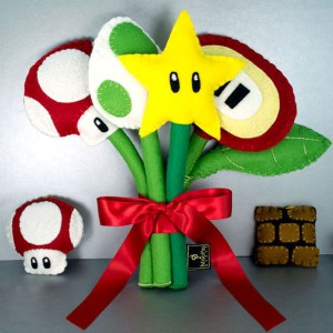 Super Mario Plush Bouquet Shut Up And Take My Yen : Anime & Gaming Merchandise