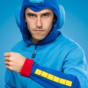 Mega Man Hoodie Shut Up And Take My Yen : Anime & Gaming Merchandise
