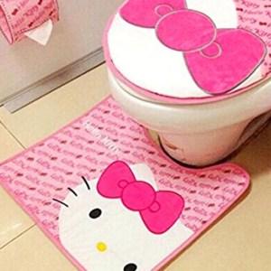 Hello Kitty Toilet Set