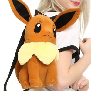 Pokemon Eevee Plush Backpack Shut Up And Take My Yen : Anime & Gaming Merchandise