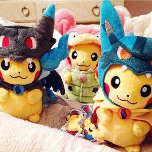 Pokemon Pikachu Cosplay Plush