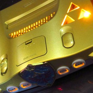 Legend Of Zelda Custom Nintendo 64 Console