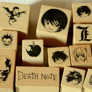 Death Note Stamp Set
