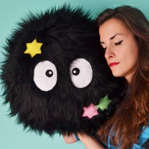 Giant Soot Sprite Pillow