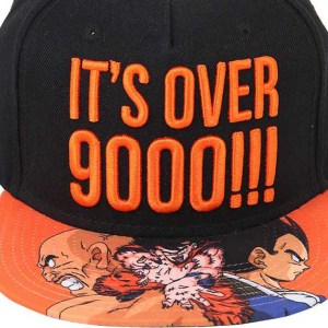 Dragon Ball Z Over 9000 Snapback