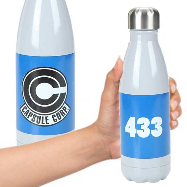 Shut Up And Take My Yen Dbz Capsule Corp Water Bottledbz