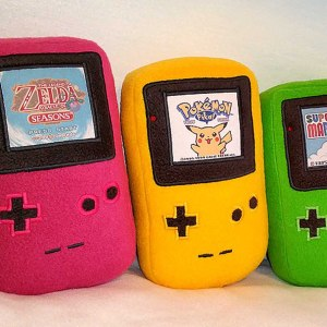 GameBoy Color Plushies