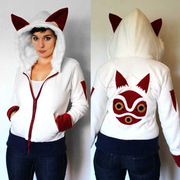 princess mononoke hoodie