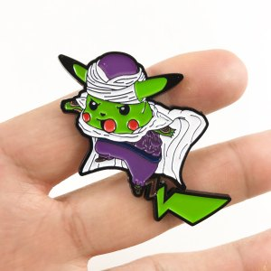 Pokemon X Dragon Ball Z Pins