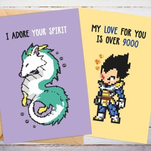 Anime Valentines Day Cards