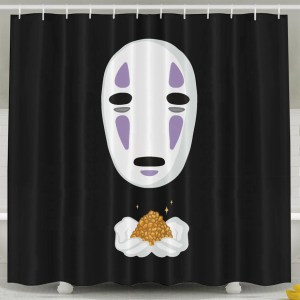 Spirited Away No Face Shower Curtain