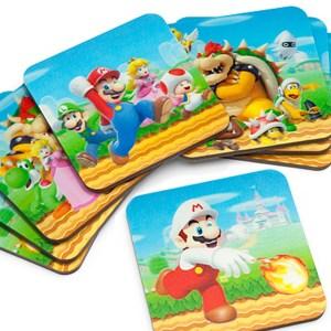 Super Mario 3D Lenticular Coasters