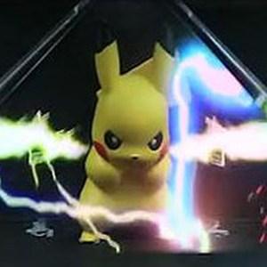 Pokemon Pikachu Thundershock 3D Hologram
