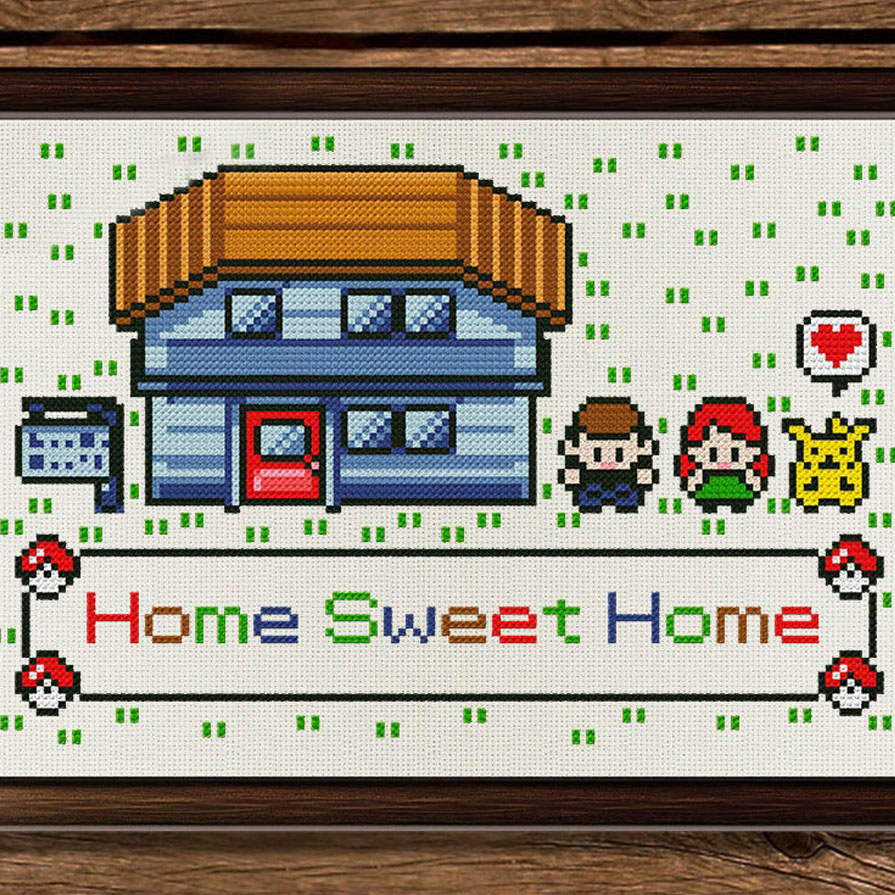 You can now donate your unused car, truck, motorcycle, rv, or boat to home sweet home by simply visiting this link and completing a short form. Pokemon Home Sweet Home Cross Stitch Shut Up And Take My Yen