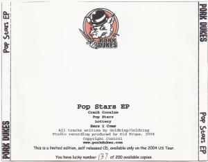 pop star cd cover 2