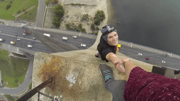 Photographer James Kingston gets arrested for doing another one of his crazy stunts