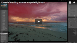 Editing an oceanscape in Lightroom