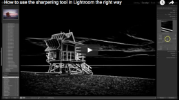 Lightroom Sharpen Tool Explained