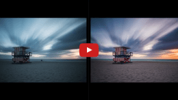 How to edit a long exposure using a 10 stop ND filter