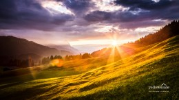 A Bavarian Sunset in Geroldsee Germany