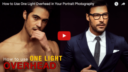 How to take amazing portraits using only one light