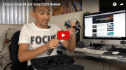 Zhiyun Crane M and Sony 6500 Hands on Review