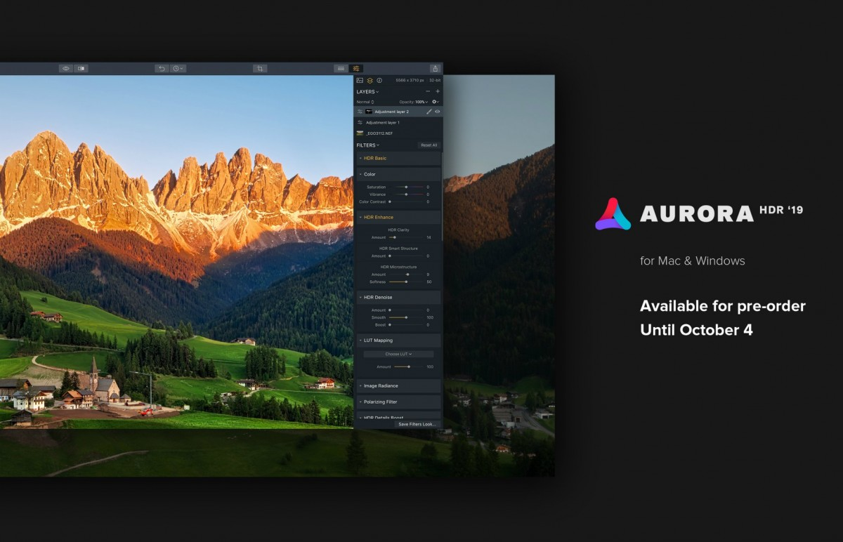 Aurora HDR 2019 Along with discount codes a bonuses