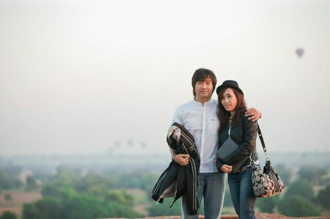 Myo Gyi and His Wife @ Bagan - All Things Myanmar Burmese